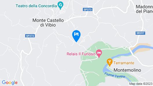 CASALE LUIGINA Map