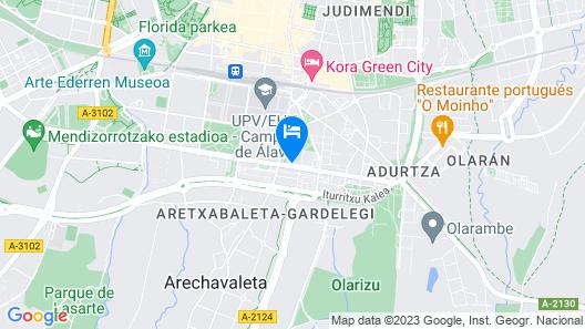 Residencia Tomás Alfaro Fournier - Centro Adscrito a la REAJ Map