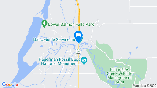 Billingsley Creek Map