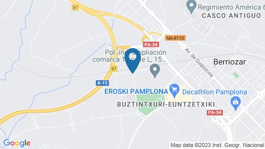 Hotel Agustinos Map