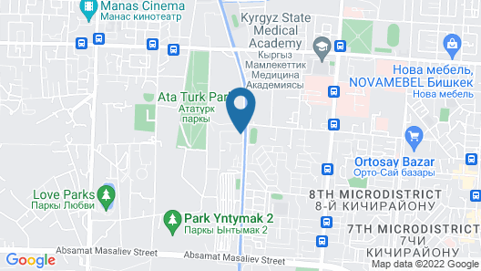 Oasis residence Map