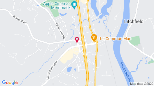 Holiday Inn Express & Suites Merrimack Map