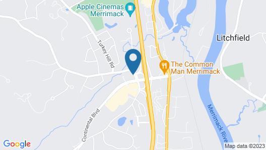 Holiday Inn Express & Suites Merrimack, an IHG Hotel Map