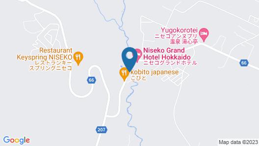 Niseko Konbu Onsen Tsuruga Besso Moku No Sho Map
