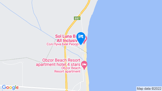 Sol Luna Bay Resort - All Inclusive Map