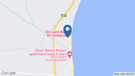 Sol Luna Bay Resort Map