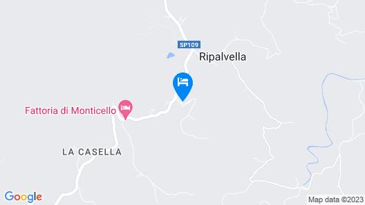 La Bella Imperia Map