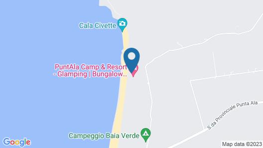 PuntAla Camp & Resort Map