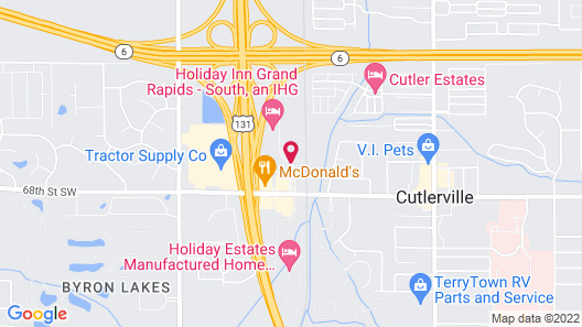 Holiday Inn Grand Rapids - South Map