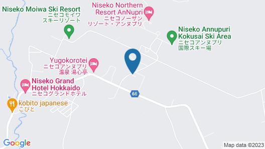 the kamui niseko Map