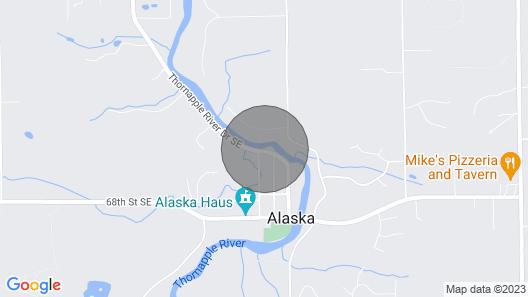 The River House of Alaska, Michigan (Southeast Grand Rapids)  pet friendly Map