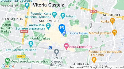 Habitaciones Javier  Map