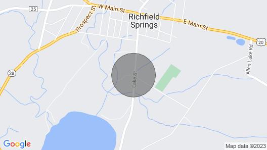 5 Bedroom Family House - Big Yard Map