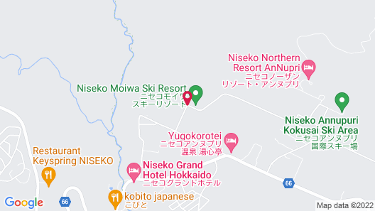 Moiwa Lodge - Hostel Map