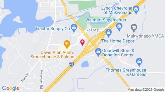 Baymont Inn & Suites by Wyndham Mukwonago Map
