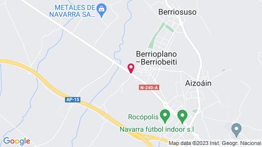 Pamplona El Toro Hotel & Spa Map