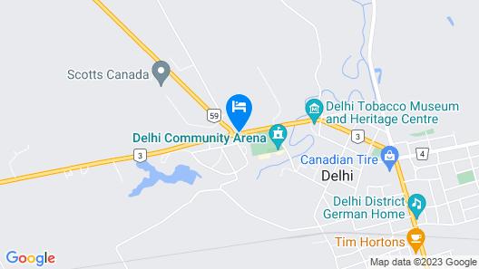 Maple Leaf Motel Map