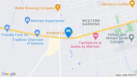 Microtel Inn & Suites by Wyndham Geneva Map