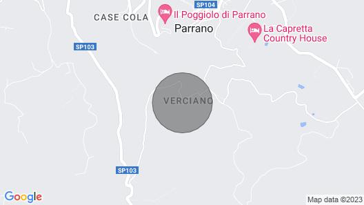 Vacation home Casale Verciano in Fabro - 10 persons, 6 bedrooms Map