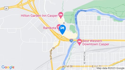 Ramkota Hotel & Conference Center Map