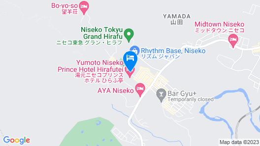 Chalet Ivy Hirafu Map