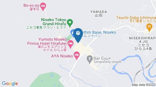 Niseko Central Condominiums Map