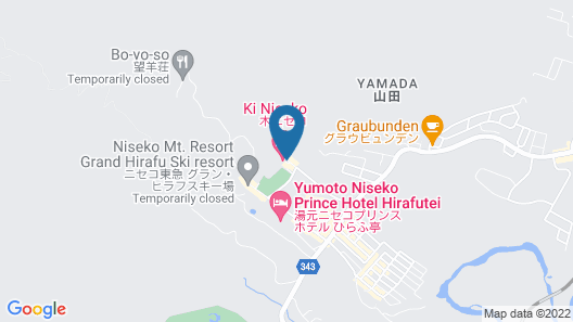 Ki Niseko Map