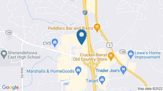 Courtyard by Marriott Albany Clifton Park Map