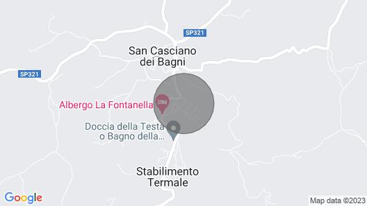 Villa Sulle Colline - 9 Guests Map