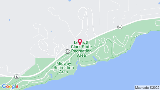 Lewis and Clark Resort Map
