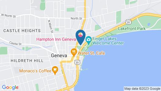 Hampton Inn Geneva Map
