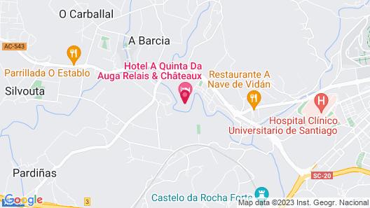 Hotel Spa Relais & Chateaux A Quinta da Auga Map