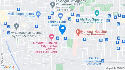 Ramada by Wyndham Bishkek Centre Map