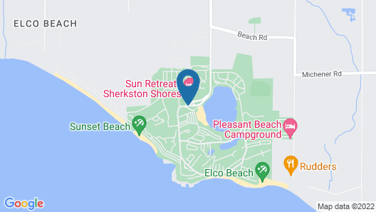 Sherkston Shores by Carefree Resorts Map