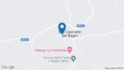 Verdidea - MONTE SANTO & TORRINO Map