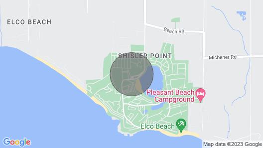 Spacious Cottage at Sherkston Shores Resort Map