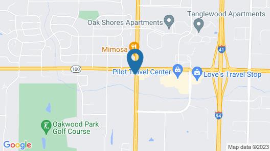 Staybridge Suites Milwaukee Airport South, an IHG Hotel Map