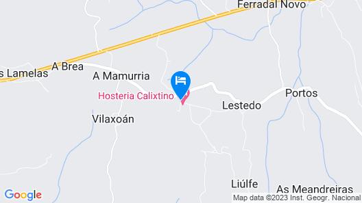 Hosteria Calixtino Map