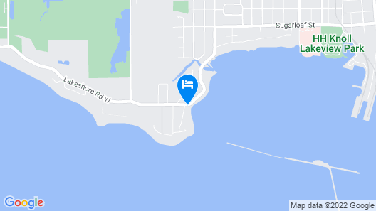 Exclusive Waterfront Beach House Retreat Map