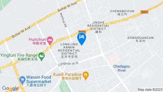 Kunlun International Business Hotel Map