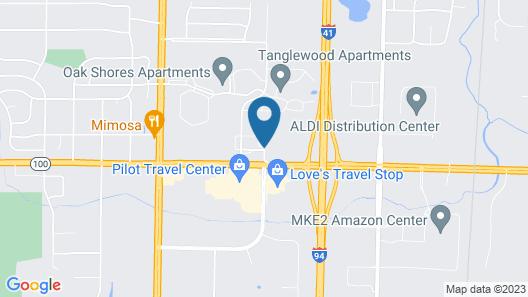 Value Inn Milwaukee Airport South Map