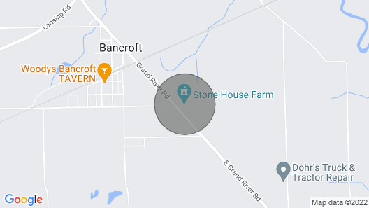 Newly Remodeled Stone House Map