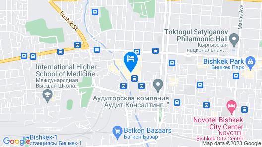 KGHOSTEL Map