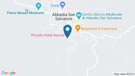 Piccolo Hotel Aurora Map