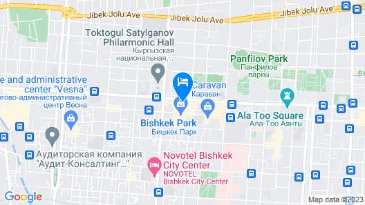Hotel Avenue Map