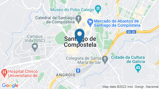 Hotel Universal Map