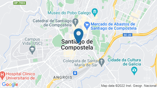 Compostela Hotel Map