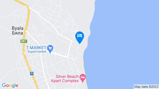 Gliko Seaside Residence Map