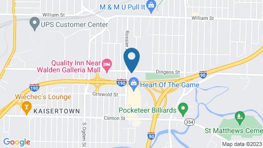 Best Western Plus Galleria Inn & Suites Map