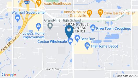 Hampton Inn & Suites Grandville Grand Rapids South Map